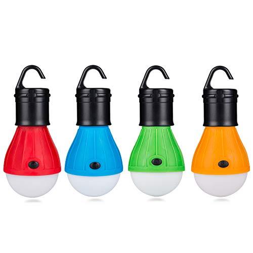 Eletorot LED Campinglampe Zeltlampe Glühbirne Set-Notlicht COB150 Lumen für Camping,...