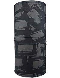 Hilltop Motorrad Halstuch, Multifunktionstuch, Schlauchtuch, Bandana, Schal/die Saumkanten sind vernäht