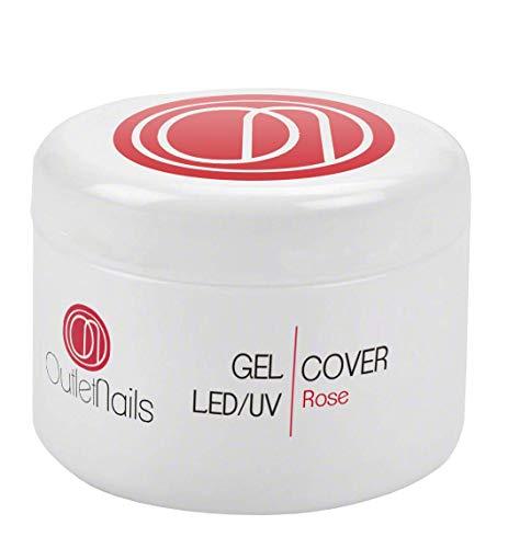 UV Gel Cover Rose Intenso 30 ml für Gelnägel - UV/LED Trocknung