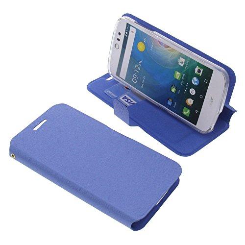 foto-kontor Tasche für Acer Liquid Z530 Liquid M530 Book Style blau Schutz Hülle Buch