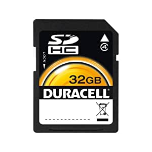 Duracell DU-SD-32GB-C Carte Mémoire Flash SDHC 32 Go