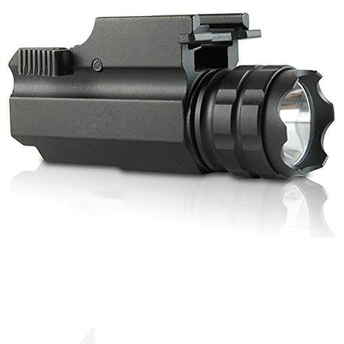 Lampe-Torche Tactique compacte montée sur Rail à Del avec dégagement Rapide
