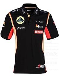 Camisa de POLO de Fórmula 1 lovingmystuff una Mens F1 Team PDVSA Grosjean 2014/5