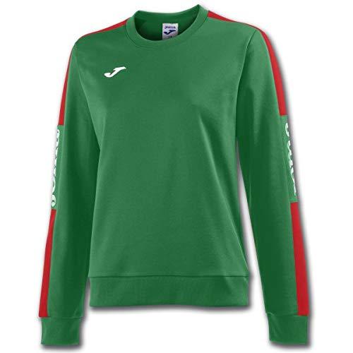 Champion Crew Sweatshirt (Joma Damen Champion Iv Sweatshirts, Grün-Rot, S)