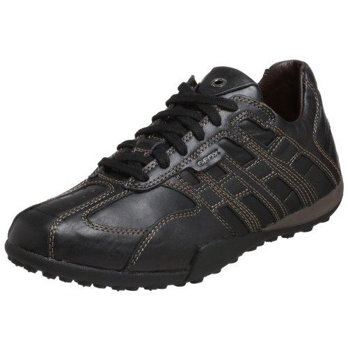 Geox U W.Snake  U7309A 43 C9999 , Herren Sneaker, schwarz, (black C9999) Schwarz