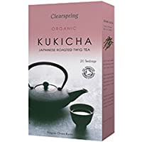 Clearspring - The giapponese biologico Roasted Twig Tea Kukicha - 40g