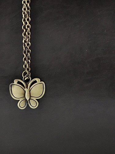 Butterflies Designer Damen Handtasche Handtasche Schultertasche Kunstleder Trage Schwarz