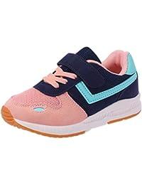 Zapatillas de Deporte de los niños Zapatillas de Deporte Ocasionales Zapatillas de Deporte de Fondo Suaves Transpirables