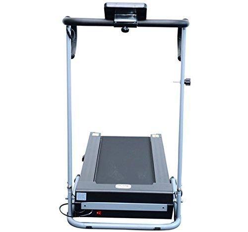 homcom - Tapis roulant Elettrico Attrezzo Ginnico richiudibile Attrezzo per l'Allenamento Domestico Schermo LCD 500 W 4 spesavip