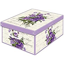 Kanguru Box Midi colección perfumada violeta, Cartón, Multicolor, 32 x 42 x 17.5 cm