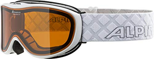 Alpina Skibrille Challenge S 2.0 DH White, One Size
