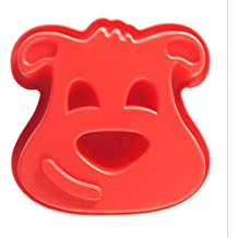 Mason Cash - Molde para repostería (silicona), diseño de perro, color rojo
