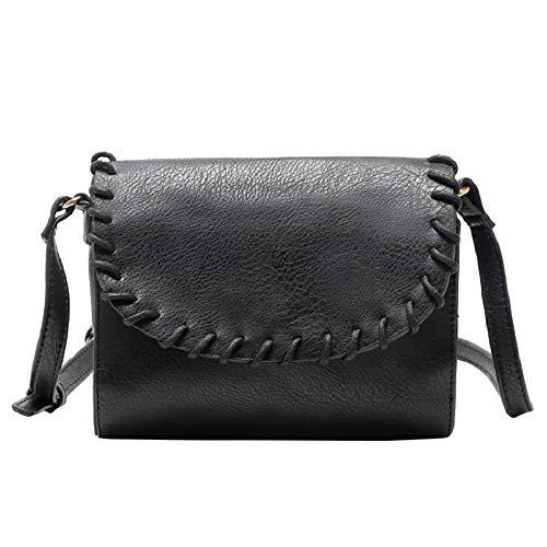 TianWlio Damen Klassische Handtasche Leder Handtasche Satchel Körper überqueren String Schultertasche Kuriertasche Handtasche Winged Schultertasche Groß Umhängetasche Taschen