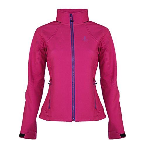 Softshell-Jacke Modell Mona | Warme Damen Outdoor-Jacke im skandinavischen Stil | Tailliert &...