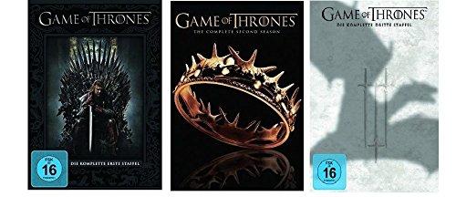 Game of Thrones - Staffel/Season 1+2+3 DVD Set