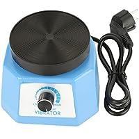 Akozon Vibrador Yeso Redondo, Oscilador Dental Equipo de Laboratorio para Dentista 220V 100W