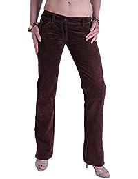 Dolce gabbana d _amp; _amp; g jean pour femme en daim marron - 109-taille 34