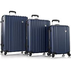 Heys - Juego de maletas azul marino