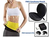 FAMEWORLD Sweat Shaper Belt, Belly Fat Burner for Men & Women - Sizes