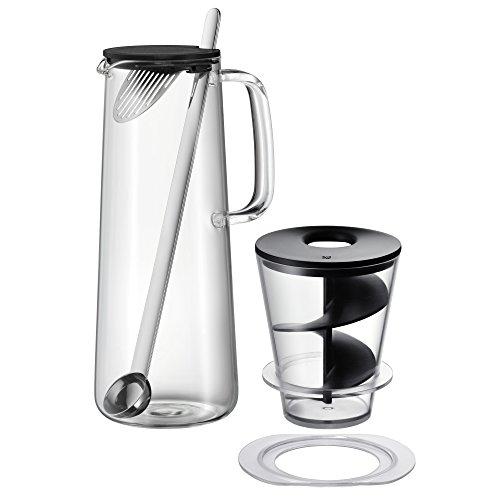 WMF IceTeaTime Turbo Cooler-Set, 2-teilig, Karaffe mit Getränkekühler, Kunststoff, Silikon, spülmaschinengeeignet