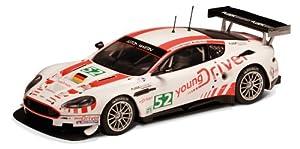 Scalextric 500003196  - Aston Martin DBR9 GT1 - Coche miniatura para circuito de carreras eléctrico (escala 1:32) importado de Alemania