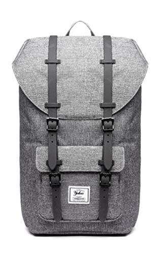 Stilvolle Reise große Kapazität Rucksack männlichen Gepäck Schultertasche Computer Backpacking Männer Funktionelle vielseitige Taschen Gray Plastic Strip 51-28-18cm
