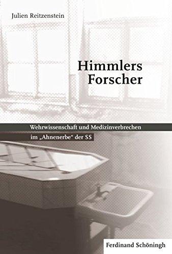 Buchseite und Rezensionen zu 'Himmlers Forscher' von Julien Reitzenstein