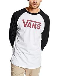 Vans VANS CLASSIC RAGLAN - Top De Sport - Manches 3/4 - Homme