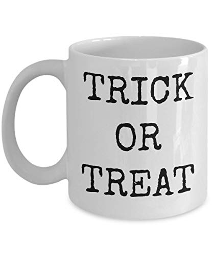 Happy Halloween Ceramic Coffee Mug Trick or Treat Funny Cup Gift Idea All Hallow Eve Work Office Party Celebrate in Style for Him or Her 31 October