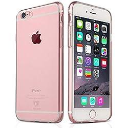 NEW'C Coque pour iPhone 6 Plus, 6s Plus, [ Ultra Transparente Silicone en Gel TPU Souple ] Coque de Protection avec Absorption de Choc et Anti-Scratch