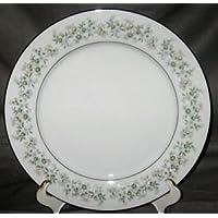 Noritake Savannah ( Rim, Platinum) Salad Plate by Noritake