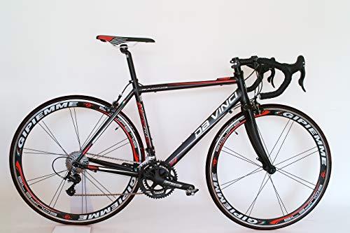 Da Vinci Rennrad 20 G Compact mit Gipiemme 716 Equipe Laufräder (59 - für KG 1.83 bis 1.95)