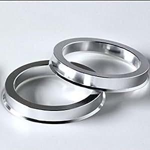 Bds Set of Aluminium Hub Centric Rings 57. 1x66. 56mm