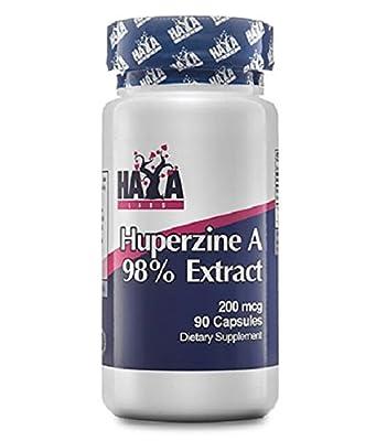 Huperzine A 98% Extract 90 capsules x 200 mcg by Haya Labs
