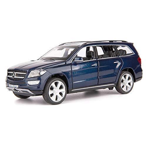 Vehículo 32 Fundición Retroceso Y AnalógicaSonido Aleación Jianping Benz 1 Modelo Todoterreno De Ligero Gl450 Mercedes A Presión KTcFl1J