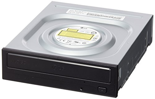 LG GH24NSD1 - Unidad de DVD interna (DVD a 16x, SATA, CD a 48x), color negro