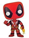 Figurine Marvel Pop! Vinyl Deadpool 'Poulet en latex' Tête branlante