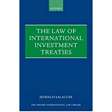 [(The Law of Investment Treaties )] [Author: Jeswald W. Salacuse] [Mar-2010]
