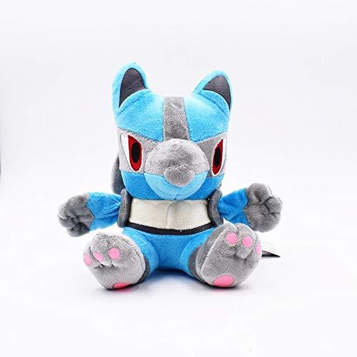xuritaotao 16 cm Ban Lucario Plüschtier Gefüllte Peluche Spielzeug Puppen Geschenke Für Kinder