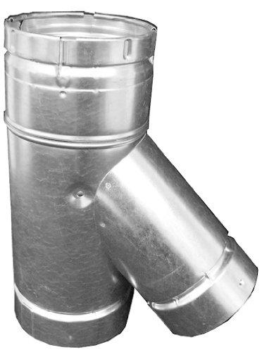 Speedi-Products BV-WYE 553 5-Inch x 5-Inch x 3-Inch B-Vent Swivel Wye by Speedi-Products