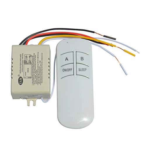 rnschalter Digitaler Fernsteuerungsschalter für Lampe LED-Licht Droplight Leuchtstofflampe ()