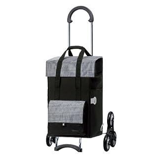 Andersen Einkaufstrolley Scala Treppensteiger und 49 Liter Einkaufstasche Milla schwarz