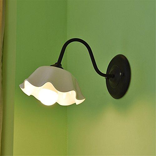 Modernes Wandbeleuchtung Wandleuchten Vintage Loft-Wandlampen Antik Deko Design Wandbeleuchtung Koreanische Mediterrane Garten Schlafzimmer Nachtgang Balkon Restaurant Keramik Wandleuchte