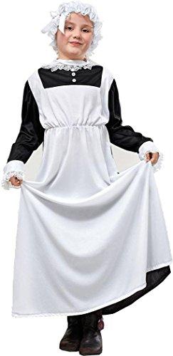 Bristol Novelties Kinder Fancy Party Kleid Woche Tag Armen Mädchen Viktorianisches Dienstmädchen Charakter Kostüm UK (Charakter Tag Kostüm)