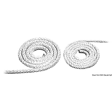 Corda avviamento 4 mm 100 m English Engine starter rope 4 mm 100 m