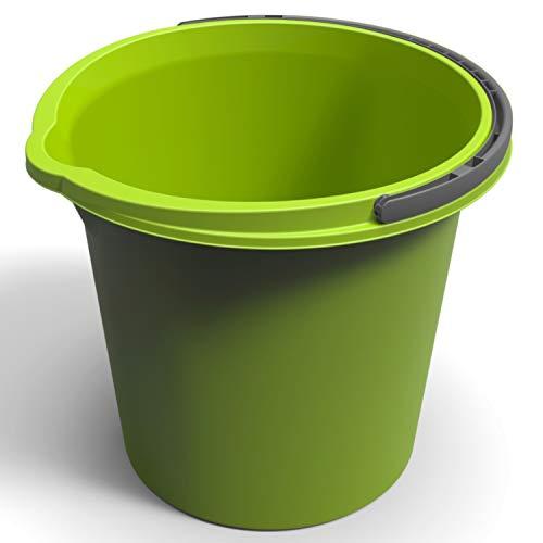 Rotho Eimer Vario 10l in grün, plastik, 29.2 x 29.2 x 25.9 cm