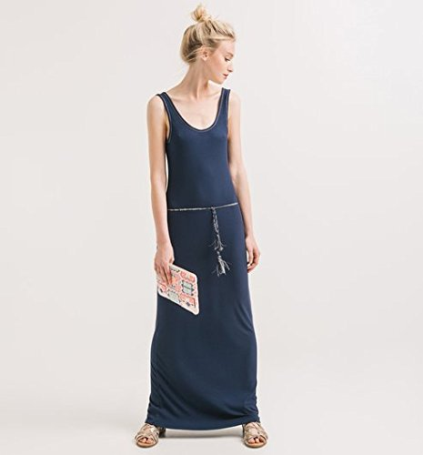 Promod Longue robe-débardeur Femme Marine