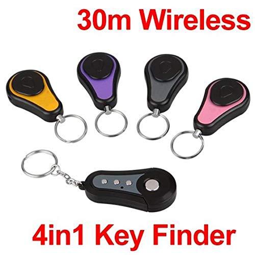 Cikuso Set 4in1 Schluesselfinder Schluessel Key Finder Schluesselring