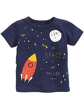 Seedfuture Espacio Gracioso Imprimir Camisetas Niño Manga Corta 3-7 Años