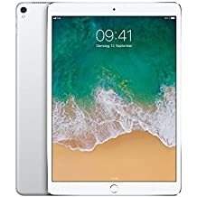Apple iPad Pro Wi-Fi Cellular Silver MQF02FD/A 26,67 cm (10,5 Zoll) Tablet-PC (A10X M10, 4GB RAM, 64 GB, Multi-Touch, IOS 10) silber